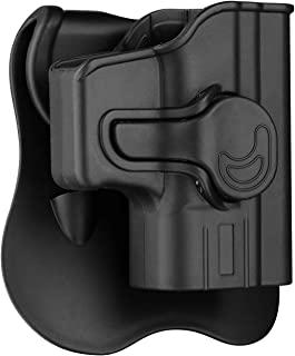 """Springfield Armory XD 40 Holster OWB, Outside The Waistband Carry Paddle Holster Fit XD 3""""SUB-Compact .40SW, Polymer Belts Holsters Right Hand"""