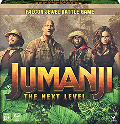Jumanji 3 The Next Level, Falcon Jewel Battle Board Game for Kids, Families, and Adults