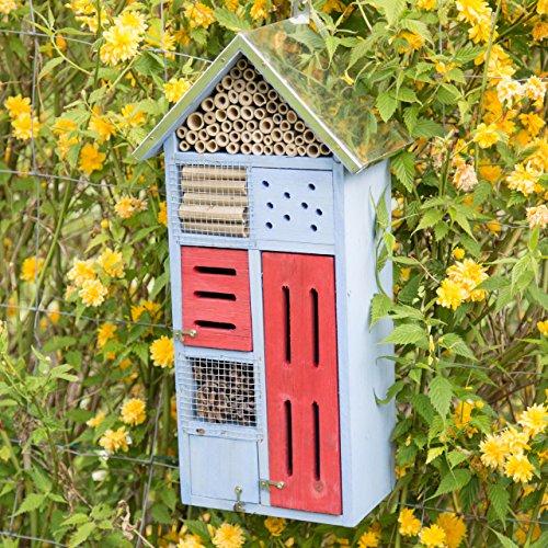 Design-Insektenhotel mit Metalldach - 2