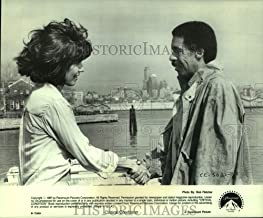 Historic Images - 1987 Press Photo Rachel Ticotin and Richard Pryor Star in Critical Condition.