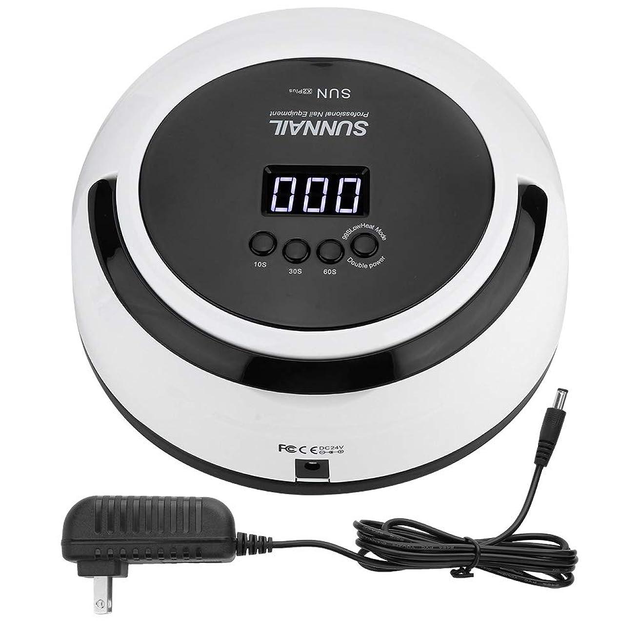 早くネット学部LEDネイルランプ UVネイルドライヤー 5W 多機能 24個LED付き/デュアル光源/ 30秒、60秒、99秒/インテリジェント 赤外線センサーあり(1#)