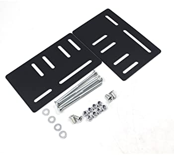 High Quality BedClaw Vertical Modification Plates for Headboard Attachment 2pcs