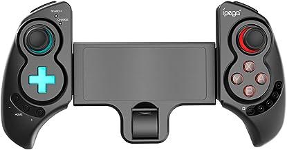 OWSOO PG-SW029 Controlador de jogo sem fio BT telescópico joystick de controle remoto recarregável com giroscópio de 6 eix...