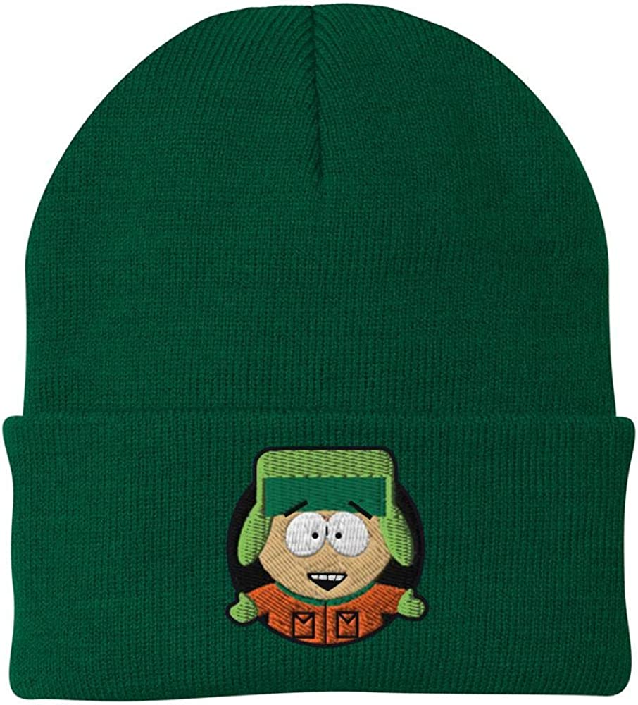 South Park Kyle Embroidered Beanie Green