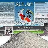 Sui JIN Oxygen O2 Peroxyd Biologie Optimierung mit Sauerstoff Koi Teich Gartenteich Schwimmteich (Oxygen 5 kg)