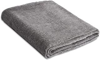 Andes Comfort Light Gray Authentic Premium Super Soft Warm Cozy Alpaca Wool Blanket. Queen Size 90
