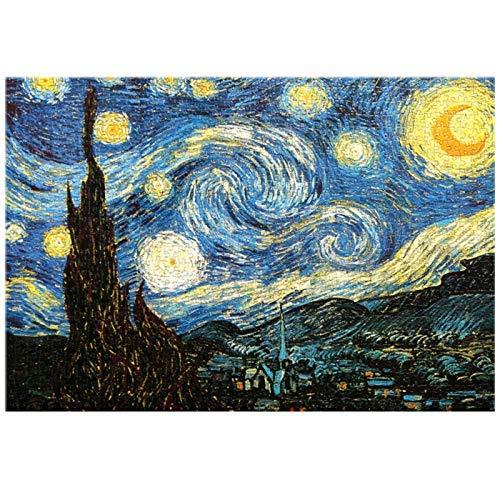 Cocodeal 1000 Piezas Van Gogh Rompecabezas Paisaje Rompecabezas Rompecabezas Juguete para Adultos niños niños Juegos educativos Juguetes