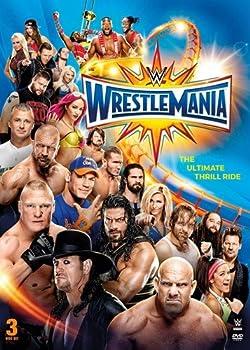 wrestlemania 33 dvd