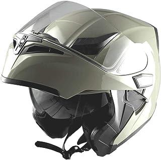 1Storm Motorcycle Modular Full Face Helmet Flip up Dual...