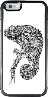 Grey Chameleon iPhone 6s Plus 6 Plus Case Bumper, Ultra Slim Soft Flexible PC and TPU Rubber Gel Back Black Case for iPhone 6s Plus 6 Plus