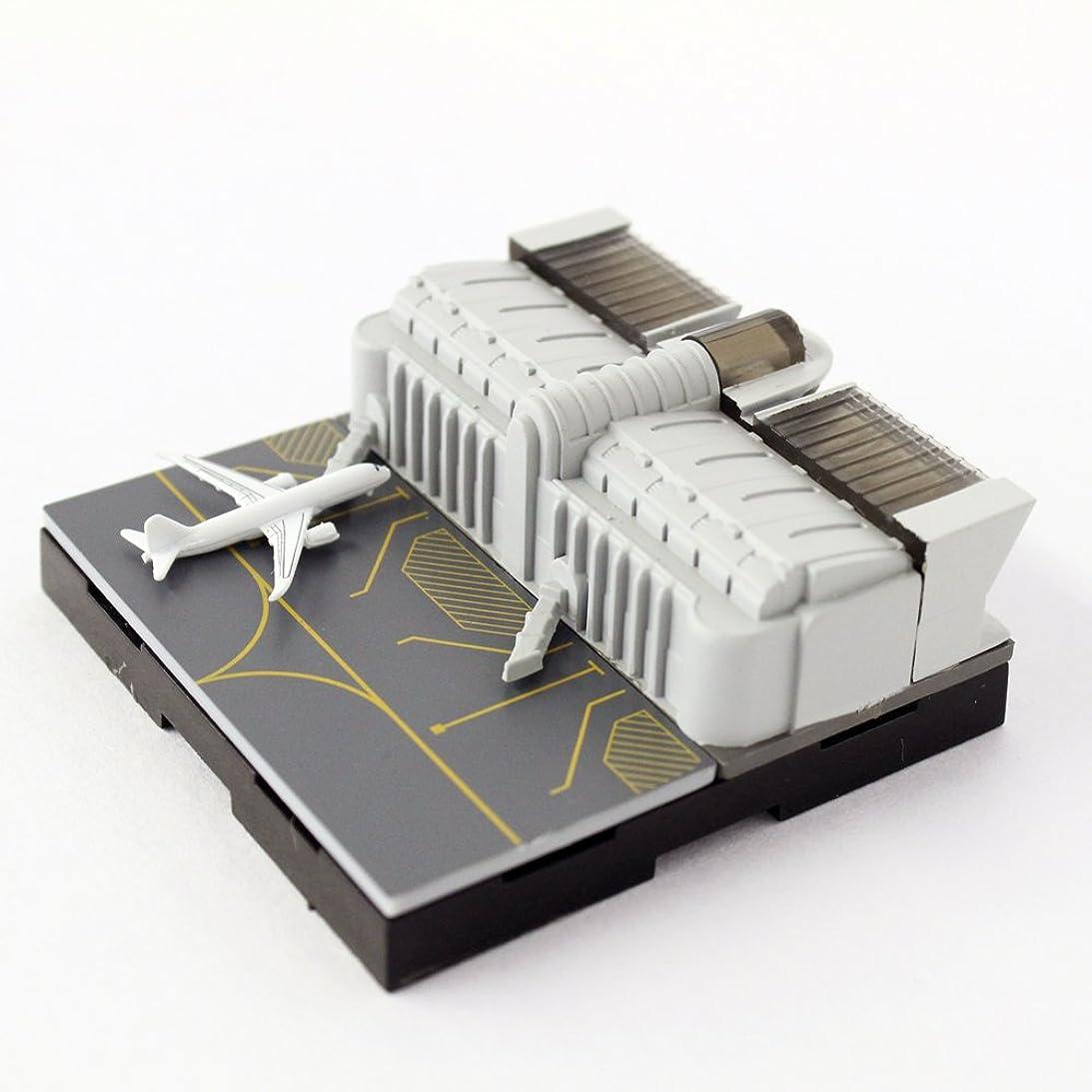 ホールド蒸気豊富な日本卓上開発 ジオクレイパー 拡張ユニット #008 エアポートシリーズ ターミナルビル