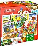 Jaques of London DÍA DE Navidad Jigsaw - Christmas Day 2018 Jigsaw - Puzzle para niños con 50 Piezas
