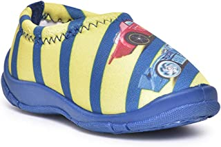 Hot Wheels Kids Boys Yellow/Blue Lycra Shoes by Toothless