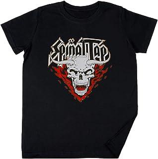 Vendax Spinal Tap Devil Niños Chicos Chicas Unisexo Camiseta Negro