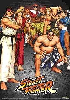 Pyramid America Street Fighter Lenticular 3D Poster 11x17 inch