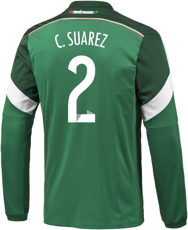 Adidas C. Suarez  2 Mexico Jersey World Cup Long Sleeve