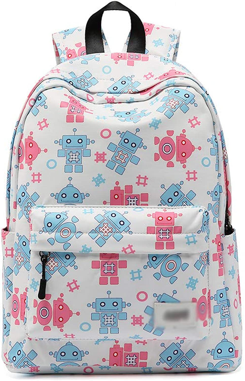 XHHWZB School Bookbags for Girls, Cute Floral WaterResistant Laptop Backpack College Bags Light Daypack by