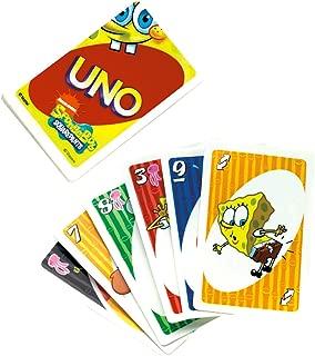 Spongebob Squarepants Uno Card Game by Mattel by Nickelodeon