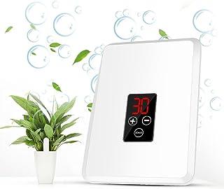 Generador de Ozono ionizador purificador de aire, Ozonizador doméstico 400mg para las habitaciones, el humo, los coches y ...