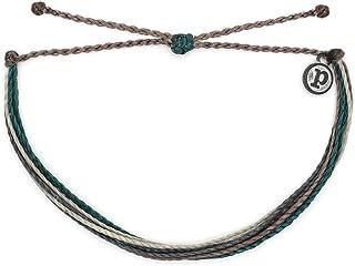 دستبند جواهرات Pura Vida دستبند روشن - 100 proof ضد آب و دست ساز با جذابیت پوشش داده شده ، باند قابل تنظیم