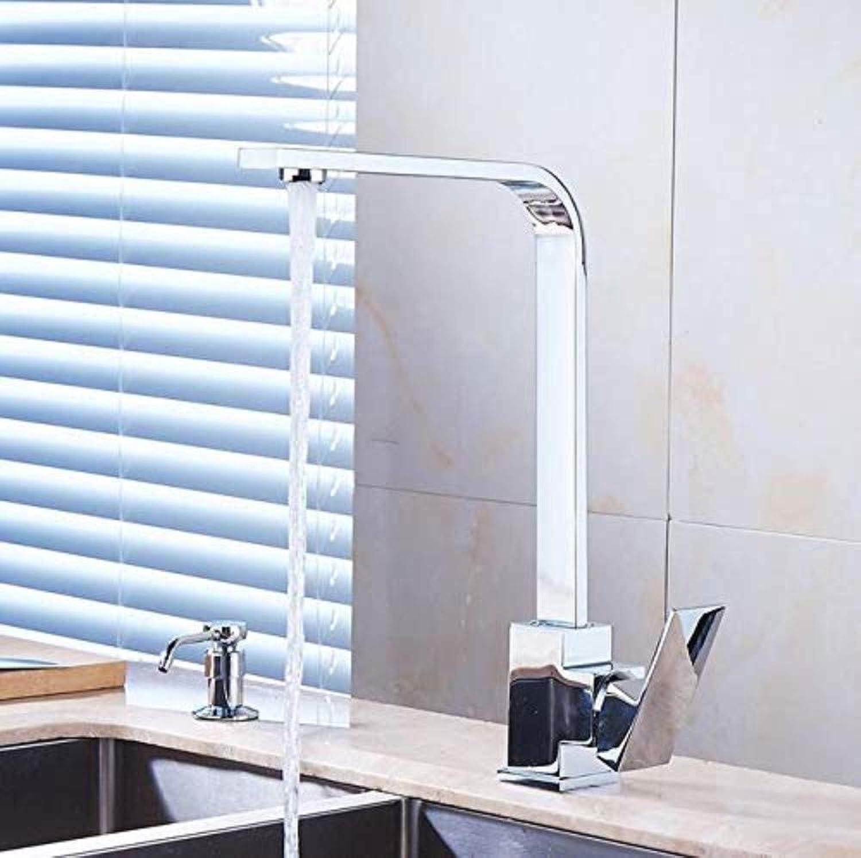360 ° drehbaren Wasserhahn Retro Wasserhahn Küche sinkt Wasserhahn hohe Bogen 360 Grad drehbaren Schwenker kalten heien Mixer Wasserhahn