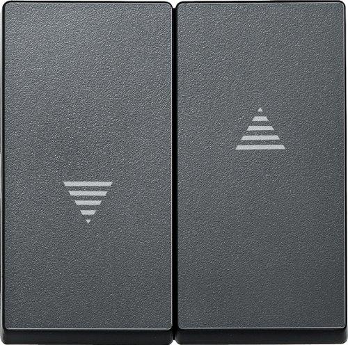 Merten 435514 Wippe für Rollladenschalter und -taster, anthrazit, System M