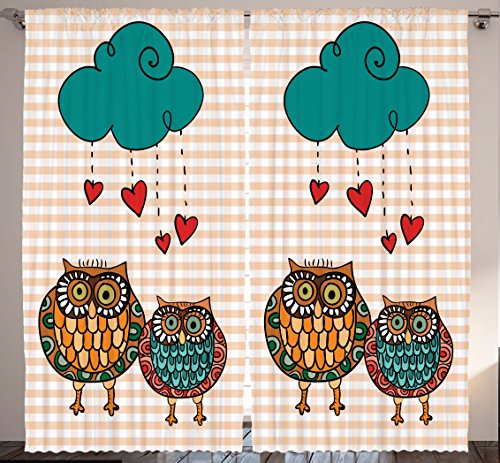 Cute Owls Love Rain