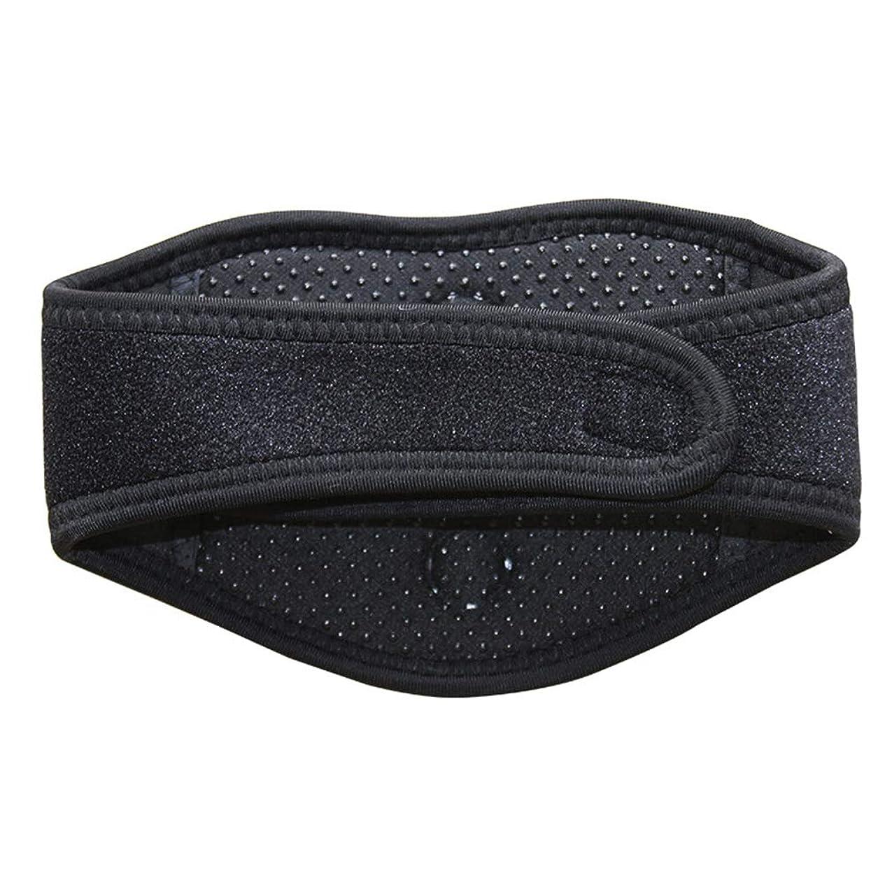 ローンアークの間でSUPVOX磁気治療ネックブレース暖房首マッサージャー首の痛みとサポートのため(黒)