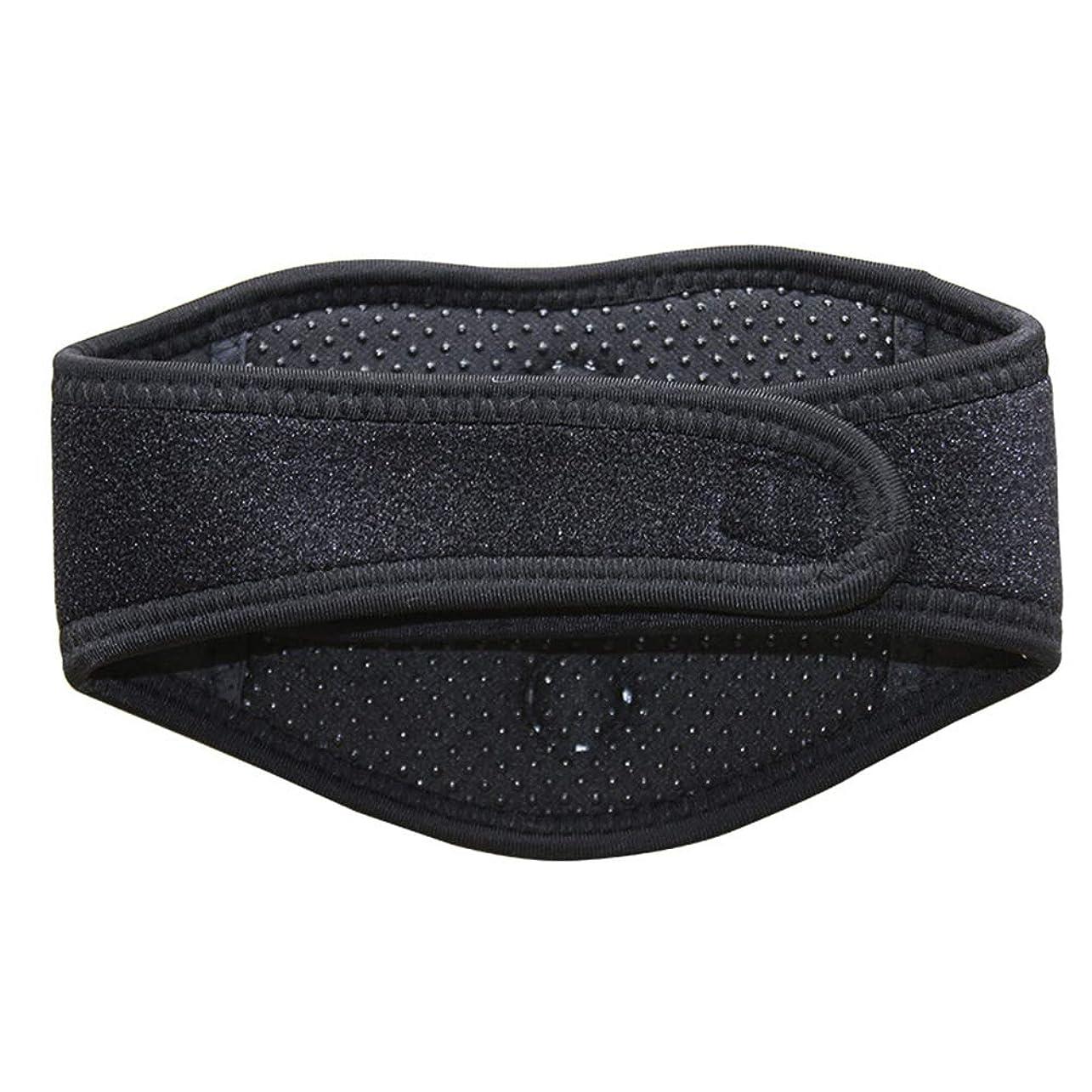 ピンポイント大騒ぎ不誠実SUPVOX磁気治療ネックブレース暖房首マッサージャー首の痛みとサポートのため(黒)