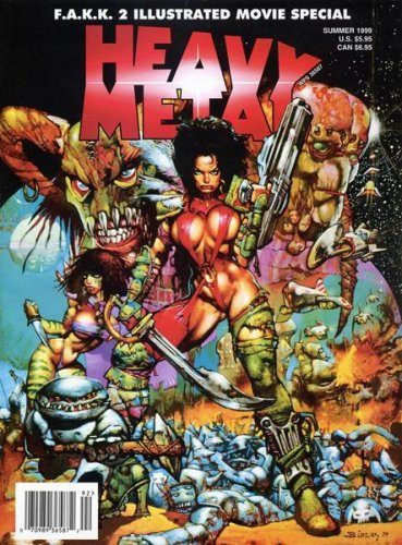 Heavy Metal Magazine F.A.A.K. 2 Illustrated Movie Special: Summer 1999 (F.A.A.K. 2 Illustrated Movie Special)