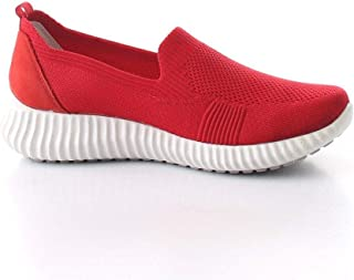 Luxury Fashion | Igi & Co Women 5162411ROSSO Red Polyester Slip On Sneakers | Spring-summer 20