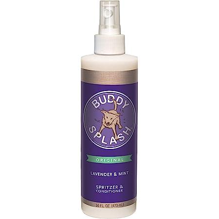Buddy Splash Dog Deodorizer & Dog Conditioner, Easy Spray-On Formula for Grooming
