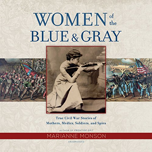 Women of the Blue & Gray audiobook cover art