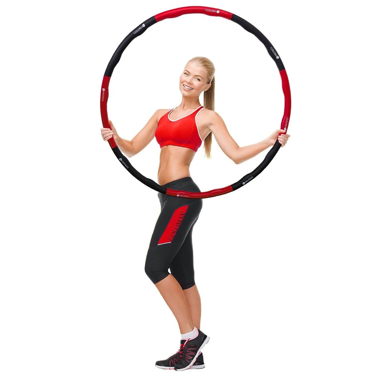 バンドフィルタ活発コロマックスフープマッサージフープフラフープダンススポーツフィットネストレーニングの楽しみ