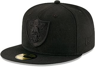 New Era 9Fifty Hat Oakland Raiders BOB Black/Black Snapback Headwear Cap