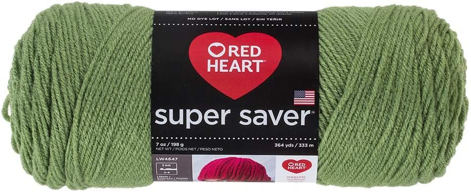 Red Heart Super Saver Yarn Leaf 624 Tea Indefinitely Mail order