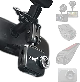 Dash Cam Mirror Mount Kit for Rexing V1,Falcon F170,Z-Edge,Old Shark,YI,Kdlinks X1,VANTRUE and Most Dash Camera and Car Ca...