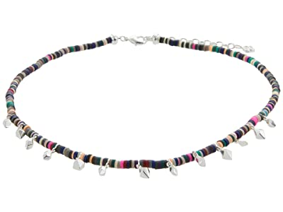 Kendra Scott Reece Choker Necklace (Bright Silver Neutral Mix) Necklace