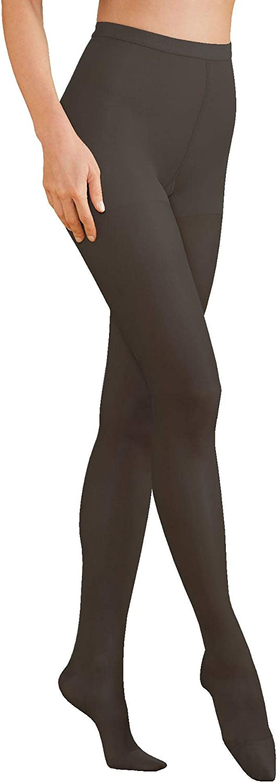 National Compression Support Pantyhose, Soft Black, E, 2-pk