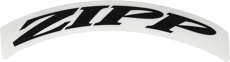 Zipp 303 Matte Black No Border Logo 700 C 1 X Wheel Decal Set - Black