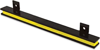 "13"" Heavy-Duty Magnetic Tool Holder, Easy-Install, 20-lb per inch Pull Force, Black Powder Coat with Yellow Stripe (AM2PLC)"