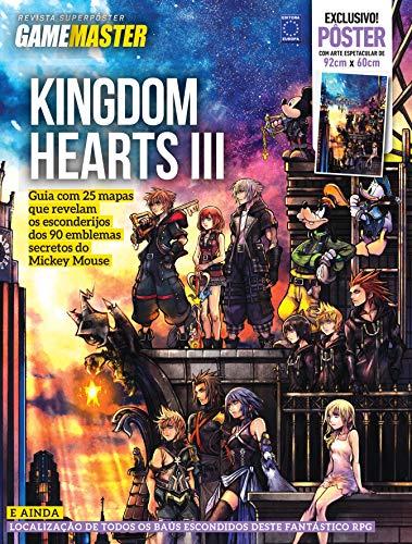 Superpôster Game Master - Kingdom Hearts