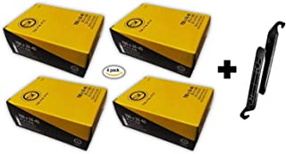Sunlite Inner Tube Bundle 700x35/40c (27 x 1-3/8) Schrader Valve 32mm (4 Tubes & 2 Tire Levers)