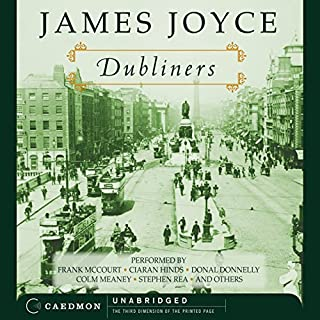 Dubliners (Harper Audio Edition) audiobook cover art