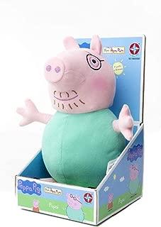 Pelúcia Papai Pig 40 cm - Peppa Pig - Estrela