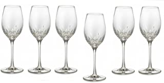 Waterford Crystal Lismore Essence White Wine Deluxe Gift Box Set of 6
