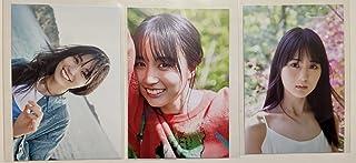 B.L.T.2021年6月号 セブンネット限定特典 賀喜遥香 ポストカード 3種セット 乃木坂46