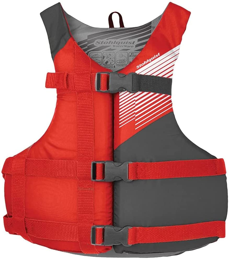 Ranking TOP20 Stohlquist Waterware Fit Adult PFD Life Universal Vest Red Un OFFicial store -