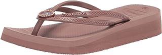 Havaianas Women's Slip-On Flip-Flop, Cappuccino, 6.5