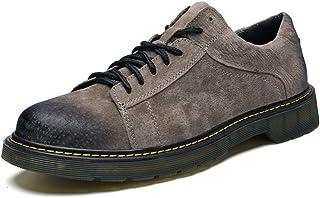 CAIFENG Homme Britannique Loisirs Classic Bottes De Travail Véritable Cuir Entreprise Casual Chaussures Respirectrices Cas...